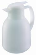Dzbanek próżniowy Bolero 1,0 l satynowy biały