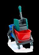 Profesjonalny wózek do sprzątania Duo