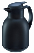 Dzbanek próżniowy Bolero 1,0 l satynowy czarny